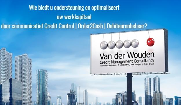 Advert Van der Wouden Credit Management Consultancy